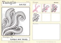 BEEZ in the Belfry: Tangle of the Week - Hairy