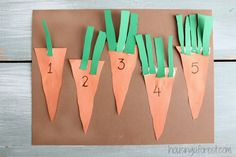 Preschool Counting Activities ~ Counting Carrots - Housing a Forest