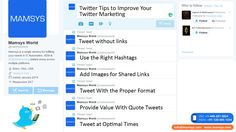 Is your Twitter marketing working?  Do you want more engagement for your tweets?  Knowing how to write your tweets and when to publish them can increase visibility, boost engagement and drive traffic to your site.  Below we'll discover eight tips to deliver better tweets.  #TwitterMarketing #Socialmedia #SMO #Twitter #SMM #Tweets