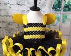 Bumble Bee tutu, Bumble bee dress, Bumble bee costume, Bumble Bee birthday, Bee tutu, Bee dress, Bee costume, Infant bee costume, bee dress