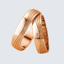 Verighete din aur roz cu design modern. Pot fi realizate din aur alb, aur galben sau aur roz. La cerere sunt posibile şi alte modificări. Aur, Slim, Sandals, Rings, Modern, Shoes, Design, Fashion, Wedding Ring Set