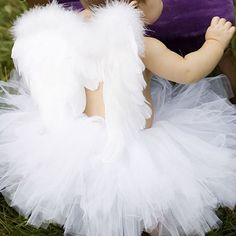 Costumes & Tutus Angel Baby Tutu Costume at PoshTots Cute Costumes, Baby Costumes, Halloween Costumes, Halloween Ideas, Costume Ideas, Angel Costumes, Ballet Costumes, Halloween Party, Baby Tutu