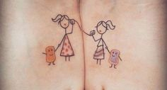 Share Tweet Pin Mail She's your sister. Matching tattoos should almost be a requirement should your lineage ever be called into question.After all, not ...