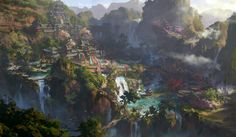 Tian xiang D1, Dawn Pu on ArtStation at https://www.artstation.com/artwork/tian-xiang-d1