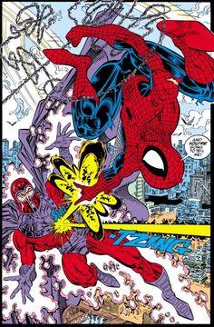 Spider-Man vs. Magnet from ASM #327