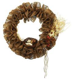 #Burlap #Wreath #MichaelsStores