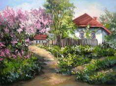 Portalul Tablouri-De-Vis.Ro va prezinta tabloul ULITA CU PRIMAVARA, unul dintre lucrarile realizate de Anca Bulgaru, in dimensiunea 40 x 30. Tabloul apartine categoriei Tablouri de primavara, categorie aleasa chiar de catre pictor.