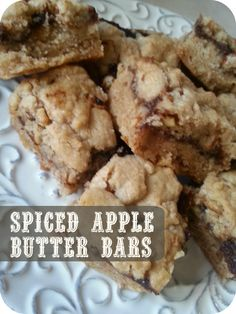 The Better Baker: Spiced Apple Butter Bars (5 ingredients)