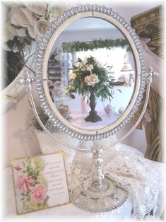 French Vanity Mirror