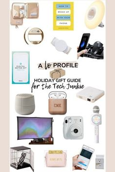 Holiday Gift Guide, Holiday Gifts, Cell Phone Holder, For Everyone, Fujifilm Instax Mini, Lifestyle Blog, Digital, Profile, Yoga