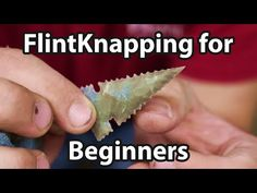 In this video, How to make an arrowhead . An intensive breakdown for beginner Flint Knappers, Ryan Gill of HuntPrimitive does a very detailed breakdown of th. Survival Shelter, Wilderness Survival, Camping Survival, Outdoor Survival, Survival Life Hacks, Survival Tools, Survival Prepping, Survival Stuff, Survival Quotes