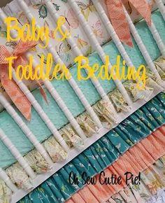 Baby girl crib bedding