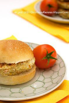 Profumo di Mamma: Jerusalem artichoke burgers