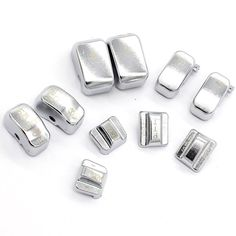 10 Pieces Silver Replacement Switch Cap Button Kit For 1996-2013 Harley ENGRAVED #Unbranded