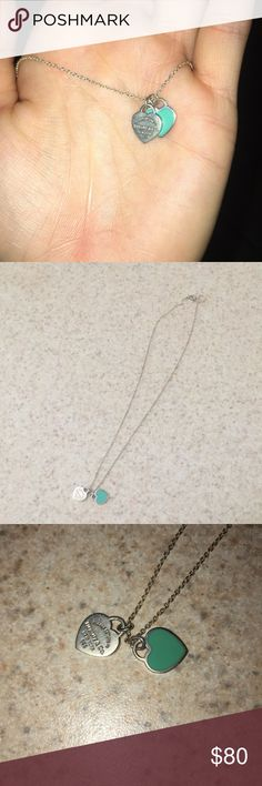 Little charm Tiffany necklace! Barley worn! Got as a gift from my ex boyfriend! Very good condition, I clean the silver very often! I don't have a Tiffany box. Make offers! Tiffany & Co. Jewelry Necklaces