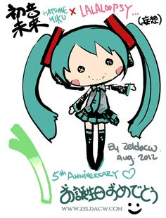 Miku Doll by *zeldacw on deviantART