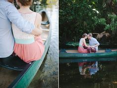 Kayla & Justin | Canoeing Engagement Session » Palm Beach, California, New York, South Florida Wedding Photographer, Destination Wedding Photographer | Shea Christine Photography
