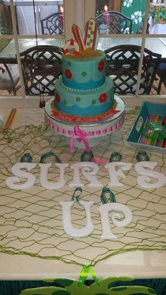 Teen Beach Movie Party Birthday Party Ideas | Photo 2 of 28 | Catch My Party