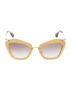 ea61a00369e4 Miu Miu Brings the Glam with its Glitter Sunglasses Collection Sunglasses  2014