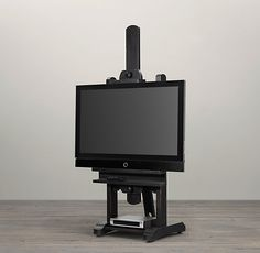 """Restoration Hardware - 80"""" TV Easel - Died when I saw it yesterday. Brilliant!"""