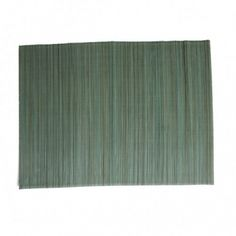 Placemat, bamboe, groenblauw (x4)