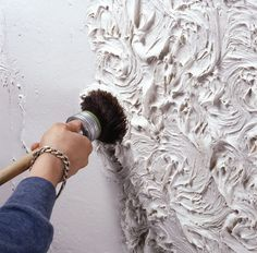 What is Your Painting Style? How do you find your own painting style? What is your painting style? Decorative Plaster, Plaster Art, Plaster Walls, Plaster Wall Texture, Drywall Texture, Wall Painting Decor, Diy Wall Art, House Painting, Creative Walls