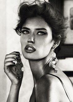 Bianca Balti SS2012 Dolce & Gabbana Ad Campaign