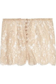 Rosamosario B-Amami lace shorts NET-A-PORTER.COM - StyleSays