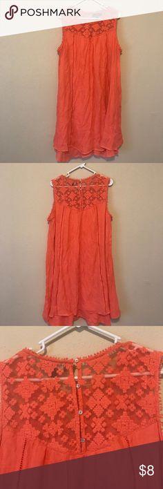 Coral Dress Cute loose coral dress Dresses