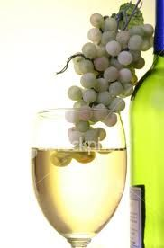 My favorite way to enjoy white wine grapes........one at a time