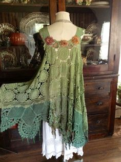 Luv Lucy crochet dress Lucy's Forest Fairy Dress gypsy