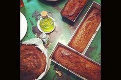 Desayunos sanos y originales para comenzar bien el día. Pan de plátano y nueces. © La Mojigata.