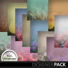 Spring Into Summer Papers by LLL Creations.  #digitalscrapbooking #scrapbooking #mymemories #LLLCreations