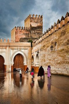 Old city, Fez, Morocco