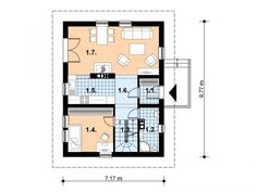 Modele de case din lemn: 3 exemple deosebite - Case practice Case, Floor Plans, Floor Plan Drawing, House Floor Plans