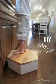 DIY Stepping Stool