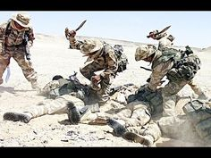 Knife Fight- Americans vs. ISIS - Helmet Camera - YouTube