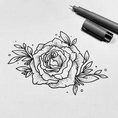"""3,322 lượt thích, 12 bình luận - Fer Solley (@sollefe) trên Instagram: """"Una rosa para recordar Para diseños y tatuajes manden un inbox por facebook o a…"""""""