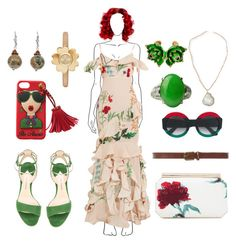 """Mistress"" by elinormars ❤ liked on Polyvore featuring Johanna Ortiz, Paul Andrew, Oscar de la Renta, Gucci, Dorothy Perkins, Panacea, Michael Kors, Charming Life and Roberto Cavalli"
