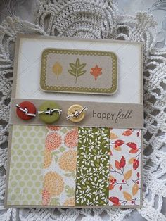 Falling Leaves & Fillable Frames #7 by Michelle Wooderson