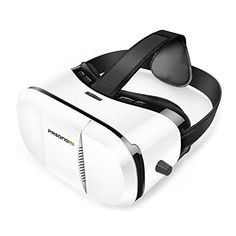 Pasonomi VR Glasses - 3D Virtual Reality Headset for iPhone 7/ 7 Plus/6s/6 plus/6/5 Samsung Galaxy Huawei Google Moto & all Android Smartphone