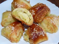 recept na syrovo cesnakove trojuholnicky 13 Pretzel Bites, Nova, Bread, Brot, Baking, Breads, Buns