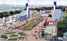 Six Postcards of the Empire Exhibition in Glasgow 1938 - Flashbak Paisley Scotland, Glasgow City, Rio Carnival, Glasgow Scotland, Okinawa Japan, British History, Historical Photos, Cool Photos, Interesting Photos