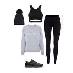 CLEO HARPER ACTIVEWEAR, Coco Black Bralet + Havana Black Leggings + London Sweater, www.cleoharper.com // Free Shipping Worldwide. Healthy + Health & fitness + Active Fashion + Activewear + Gym