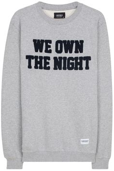 A Question Of - We Own The Night Sweatshirt