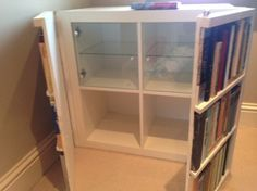 Fake bookcase hides secret cabinet | IKEA Hackers Clever ideas and hacks for your IKEA