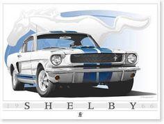 1966 Shelby Mustang - Greg Spradlin