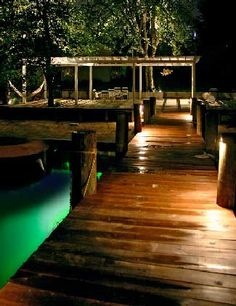 Get top quality dock lighting from Coastal Outdoor Lighting. We provide dock light installation services to Fort Myers, Cape Coral and Naples, FL Dock Lighting, Pathway Lighting, Outdoor Lighting, Lakefront Property, Underwater Lights, Light Installation, Boat Lift, Rustic Design, Boathouse