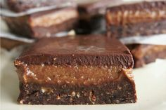 <p>Chocolate, caramel and brownie. Are there three any better words?</p>