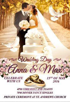 Wedding Free Flyer Template  HttpFreepsdflyerComWeddingFree